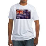 New Zealand Flag Fitted T-Shirt