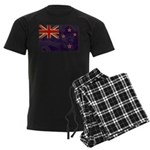 New Zealand Flag Men's Dark Pajamas