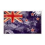New Zealand Flag 22x14 Wall Peel
