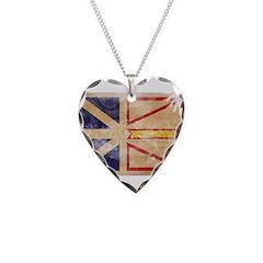 Newfoundland Flag Necklace