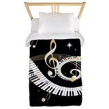 Music notes Twin Duvet Covers