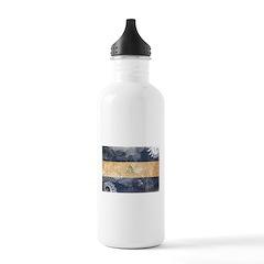 Nicaragua Flag Water Bottle