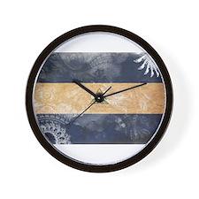 Nicaragua Flag Wall Clock