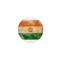 Niger Flag Mini Button