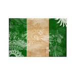 Nigeria Flag Rectangle Magnet (100 pack)