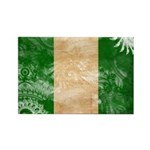 Nigeria Flag Rectangle Magnet
