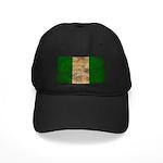 Nigeria Flag Black Cap