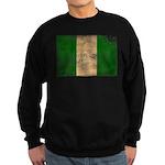 Nigeria Flag Sweatshirt (dark)