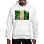 Nigeria Flag Hooded Sweatshirt
