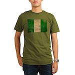 Nigeria Flag Organic Men's T-Shirt (dark)
