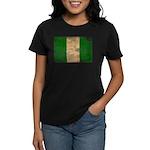 Nigeria Flag Women's Dark T-Shirt