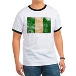 Nigeria Flag Ringer T