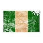 Nigeria Flag 38.5 x 24.5 Wall Peel