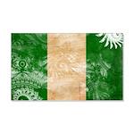Nigeria Flag 22x14 Wall Peel