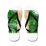Nigeria Flag Flip Flops