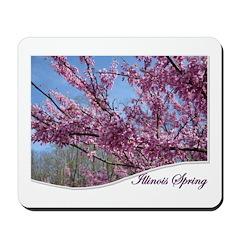Illinois spring Mousepad