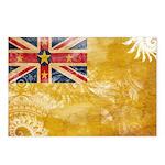 Niue Flag Postcards (Package of 8)