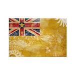 Niue Flag Rectangle Magnet (100 pack)