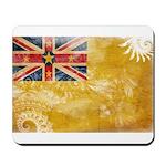 Niue Flag Mousepad