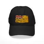 Niue Flag Black Cap