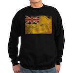 Niue Flag Sweatshirt (dark)