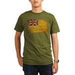 Niue Flag Organic Men's T-Shirt (dark)