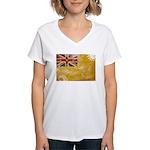 Niue Flag Women's V-Neck T-Shirt