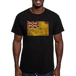 Niue Flag Men's Fitted T-Shirt (dark)