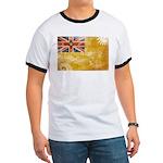 Niue Flag Ringer T