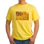 Niue Flag Yellow T-Shirt