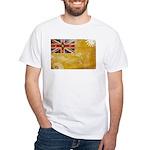 Niue Flag White T-Shirt