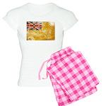 Niue Flag Women's Light Pajamas