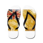 Niue Flag Flip Flops