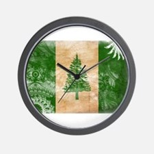 Norfolk Island Flag Wall Clock