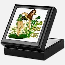 Wild Irish Rose Pinup Keepsake Box