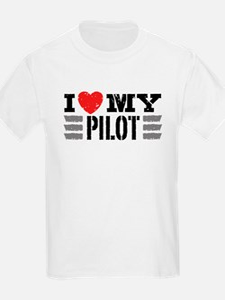 I Love My Pilot T-Shirt