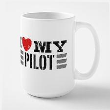 I Love My Pilot Mug