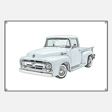 1956 Ford truck Banner