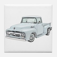 1956 Ford truck Tile Coaster