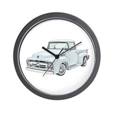 1956 Ford truck Wall Clock