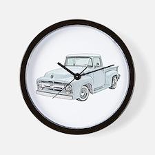 1956 Ford truck Wall Clock