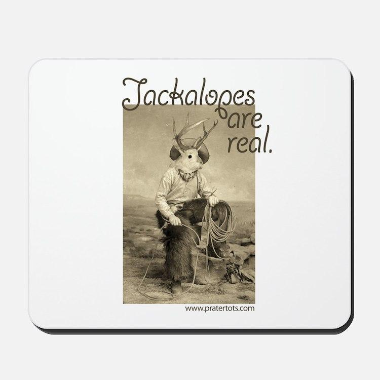 Jackalopes are real Mousepad