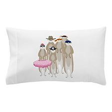 Meerkats Pillow Case