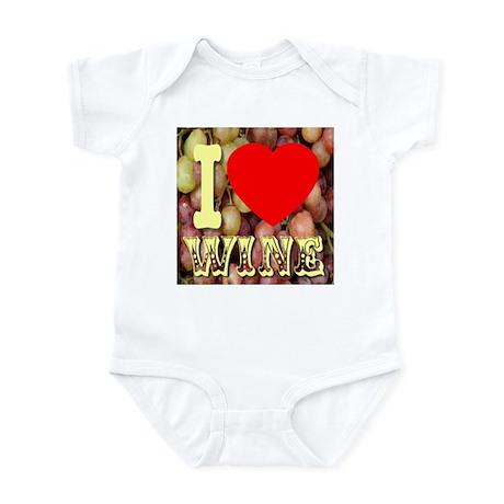 I (Heart) Wine Infant Bodysuit