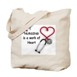 Nurses Canvas Tote Bag