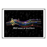Musical note Banners