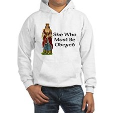 She's the Boss Hoodie