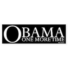 Obama One More Time Bumper Sticker