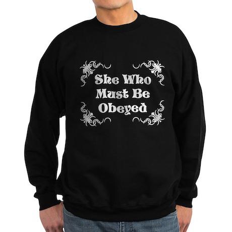 She's the Boss Sweatshirt (dark)