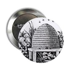 """Beehive 2.25"""" Button (10 pack)"""